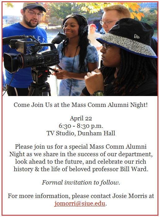 Mass Comm Alumni Night 4.22.16