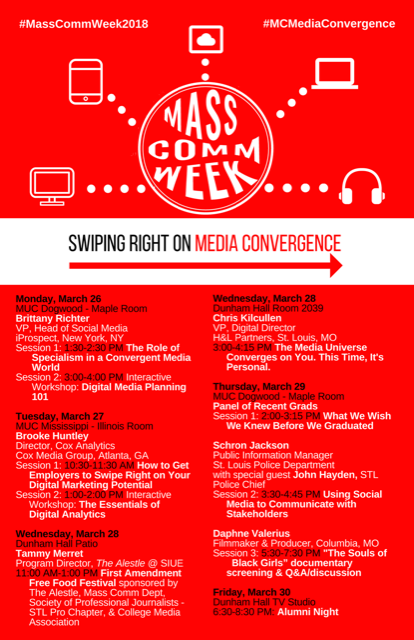 Mass Comm Week (11 x 17) Flyer